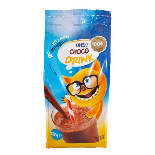 Instant Kakaó Italpor TESCO Choco Drink 800 g/cs