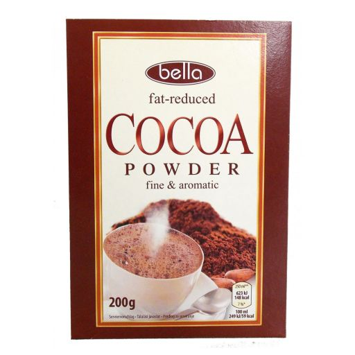 Kakaópor Zsírszegény Bella 200 g/cs