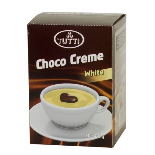Krémcsokoládé TUTTI Choco Creme White 10x25g