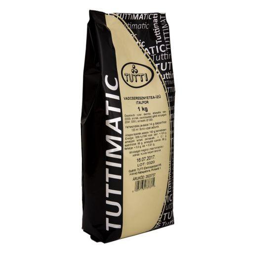Tea- és Vadcseresznyeízű Italpor TUTTIMATIC 1 kg/cs