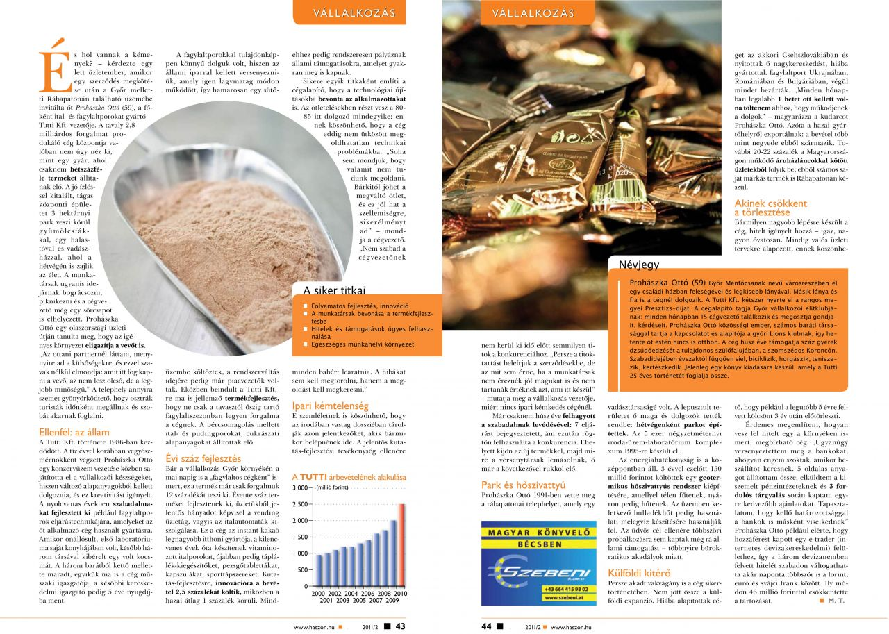 2011. február - Haszon Magazin