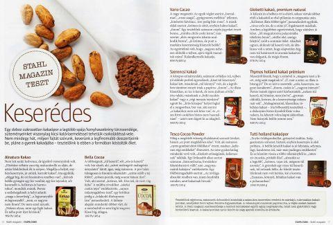 Stahl Magazin - Csupa csoki különszáma (2013. December)