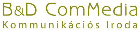 """<b>B&D ComMedia Kft.</b><br>H-1126 Budapest, Böszörményi út. 9.<br>Tel.: +36-1-201-2512<br><a href=""""http://www.commedia.hu"""">www.commedia.hu</a>"""